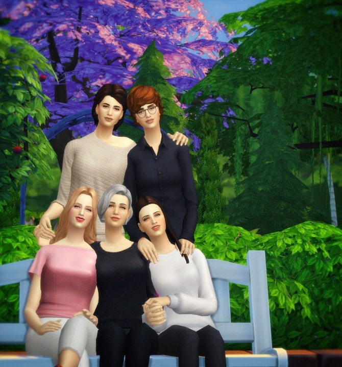 Photo album 2 posepack at Rusty Nail image 2803 670x719 Sims 4 Updates
