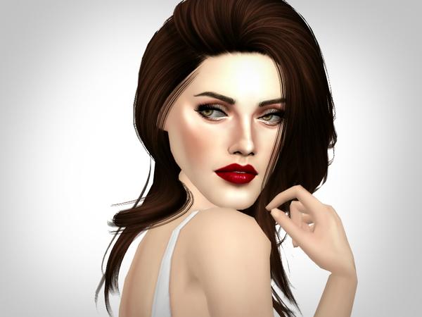 Sims 4 Bella Swan/Kristen Stewart by Softspoken at TSR