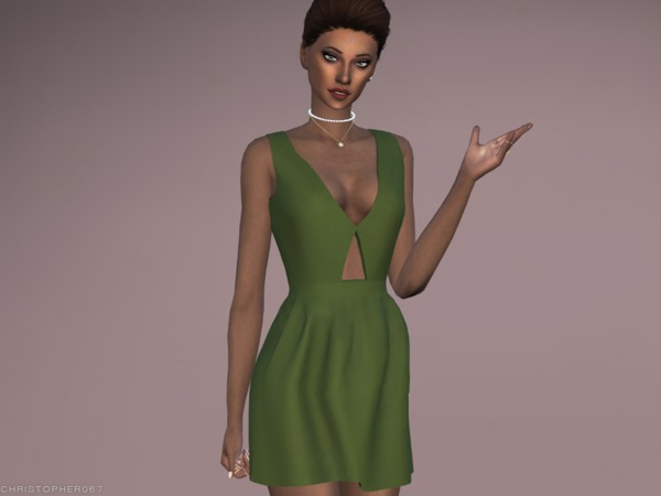 Octavia Dress by Christopher067 at TSR image 2812 Sims 4 Updates