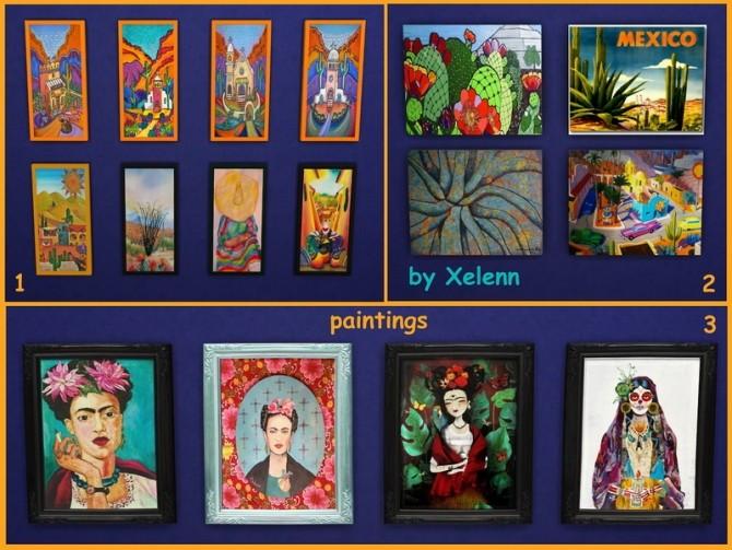 Sims 4 Mexico part 2   33 objects at Xelenn