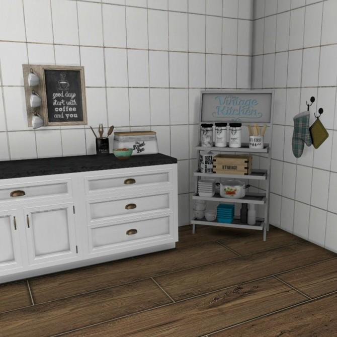Sims 4 Kitchen Storage Shelves at Leo Sims