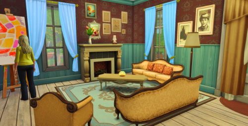 Sims 4 Küstensitz house at ChiLLis Sims