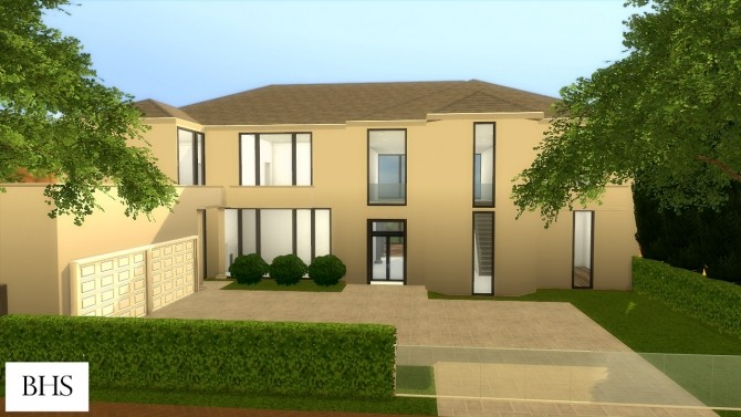 901 Bel Air Drive home at Beverly Hills Sims image 2851 670x377 Sims 4 Updates