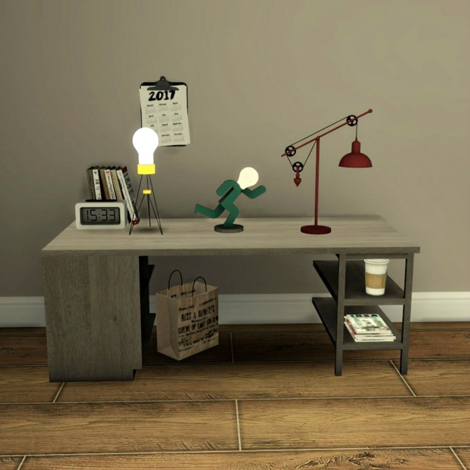 Sims 4 3 New Table Lamps at Leo Sims