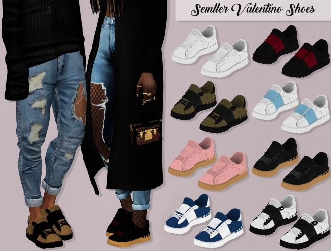 Semller V. Shoes at Lumy Sims » Sims 4 Updates