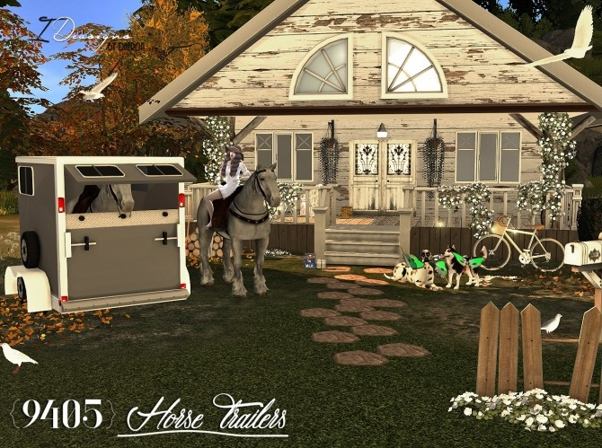 9405 Horse Trailers Open and Closed at Daer0n – Sims 4 Designs image 2961 670x499 Sims 4 Updates