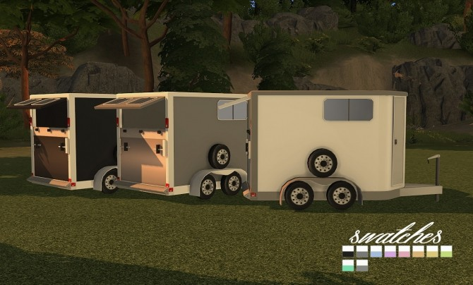 9405 Horse Trailers Open and Closed at Daer0n – Sims 4 Designs image 2971 670x404 Sims 4 Updates