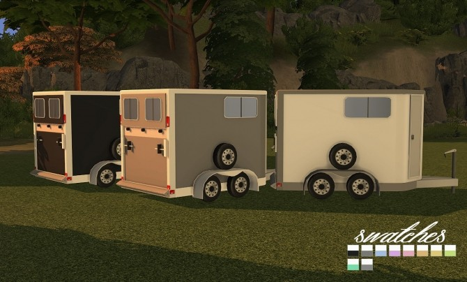 9405 Horse Trailers Open and Closed at Daer0n – Sims 4 Designs image 2981 670x404 Sims 4 Updates