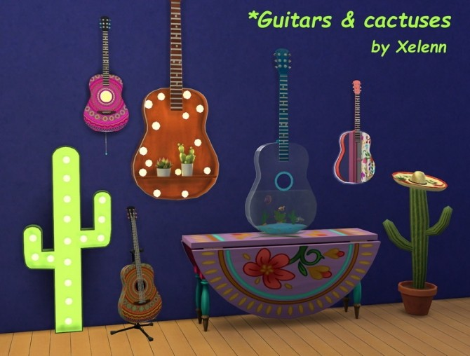 Mexico part 1   22 objects at Xelenn image 3012 670x508 Sims 4 Updates