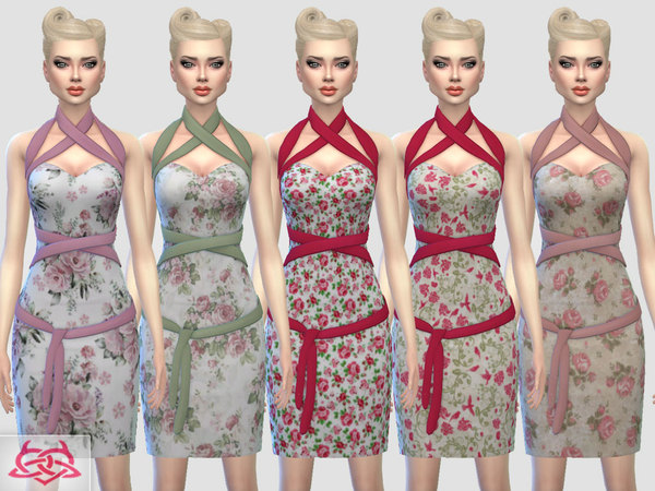 Mozzy dress recolor 3 by Colores Urbanos at TSR image 3028 Sims 4 Updates