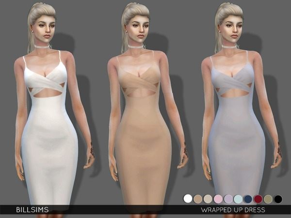 Wrapped Up Dress by Bill Sims at TSR image 3030 Sims 4 Updates