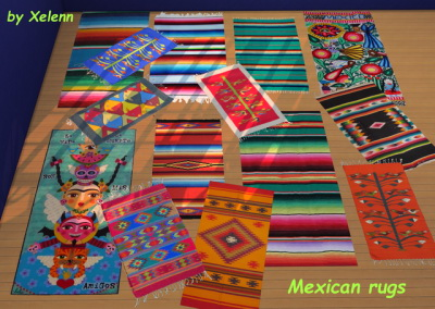 Mexico part 1   22 objects at Xelenn image 3071 Sims 4 Updates