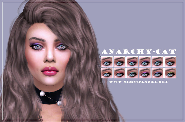 Eyeshadow #5 at Anarchy Cat image 3072 Sims 4 Updates