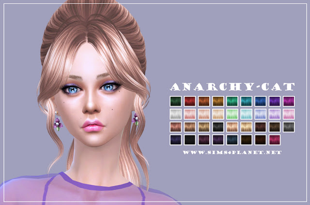 Butterfly 161 Pooklet Hair at Anarchy Cat image 3081 Sims 4 Updates
