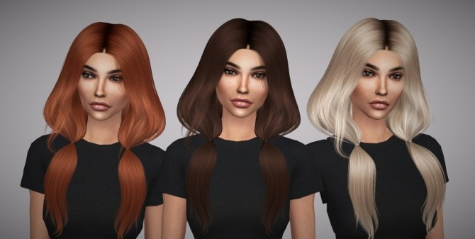 Leah Lillith Ignition hair retexture at Aveline Sims image 3082 670x337 Sims 4 Updates