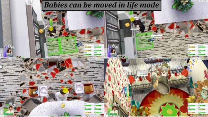 MMS Good Baby Movement by laska2222 at Mod The Sims image 31 670x377 Sims 4 Updates