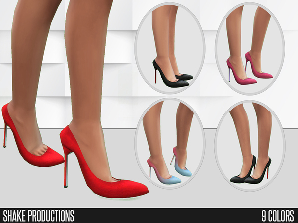 Sims 4 Shoes 63 by Shake Productions at TSR
