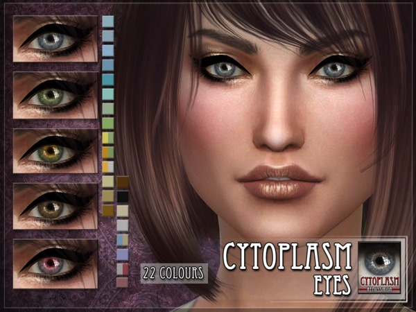 Cytoplasm Eyes by RemusSirion at TSR image 3120 Sims 4 Updates