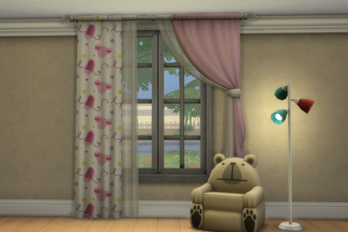 RC Baby Shower Curtain at ChiLLis Sims image 3126 Sims 4 Updates