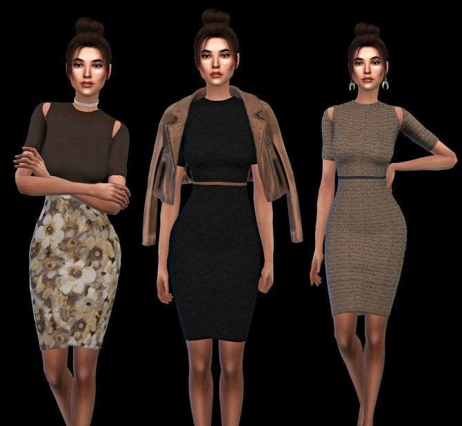 Robyn Dress at Leo Sims image 3164 670x617 Sims 4 Updates