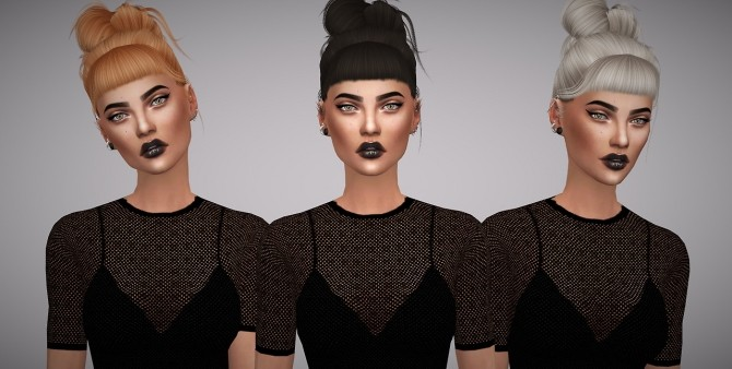 Leah Lillith Rainfall hair retexture at Aveline Sims image 3182 670x338 Sims 4 Updates