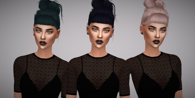 Leah Lillith Rainfall hair retexture at Aveline Sims image 3192 670x338 Sims 4 Updates