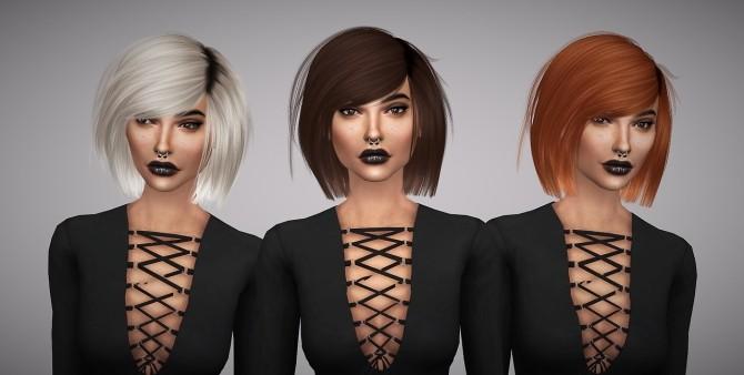 Leah Lillith Katuma hair retexture at Aveline Sims image 3202 670x338 Sims 4 Updates
