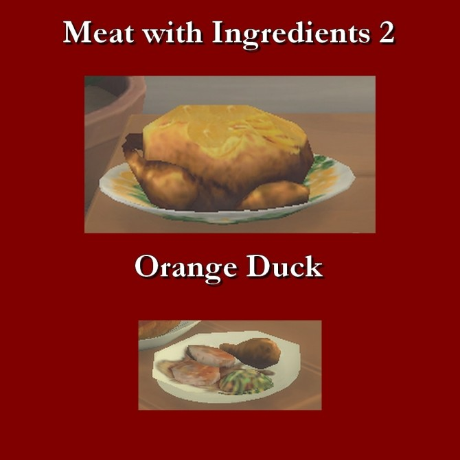 Custom Food Meats With Ingredients 2 by Leniad at Mod The Sims image 3216 670x670 Sims 4 Updates