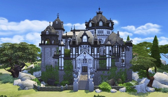 Vampire Castle by Bangsain at My Sims House image 3251 670x386 Sims 4 Updates