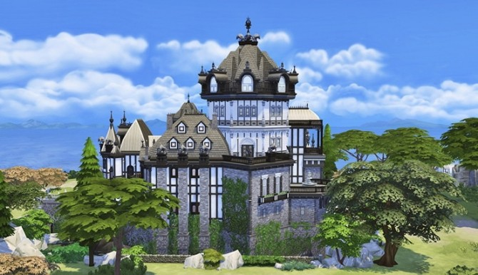 Vampire Castle by Bangsain at My Sims House image 3261 670x386 Sims 4 Updates