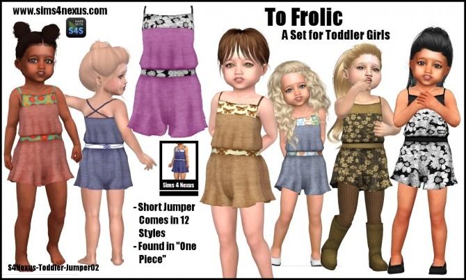 To Frolic set by SamanthaGump at Sims 4 Nexus image 3262 670x402 Sims 4 Updates