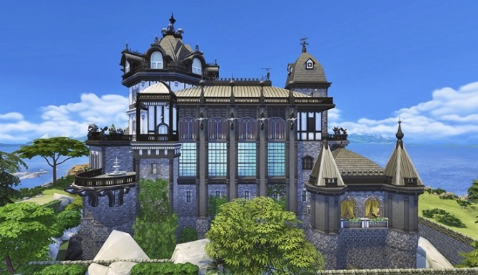 Vampire Castle by Bangsain at My Sims House image 3271 670x386 Sims 4 Updates
