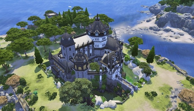 Vampire Castle by Bangsain at My Sims House image 3281 670x386 Sims 4 Updates