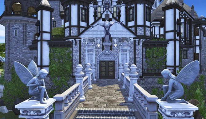 Vampire Castle by Bangsain at My Sims House image 3291 670x386 Sims 4 Updates