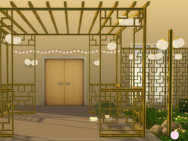 Sims 4 Inspired Lantern Set by DOT at TSR