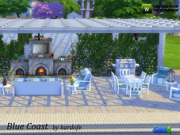 Blue Coast set by kardofe at TSR image 3314 Sims 4 Updates