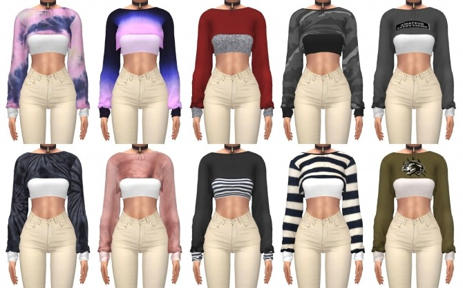 College Sweater at Kenzar Sims image 3331 670x418 Sims 4 Updates