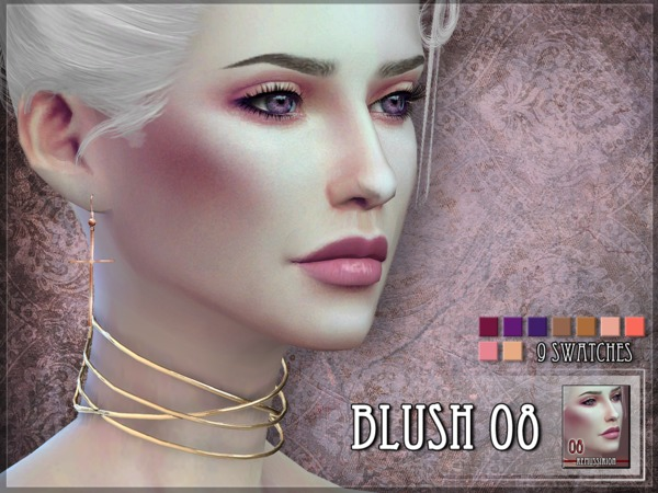 Blush 08 by RemusSirion at TSR image 339 Sims 4 Updates