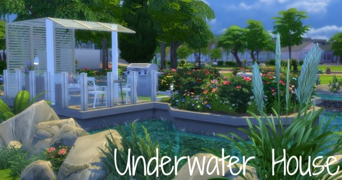 Underwater house by Innamode at Mod The Sims image 3416 670x353 Sims 4 Updates