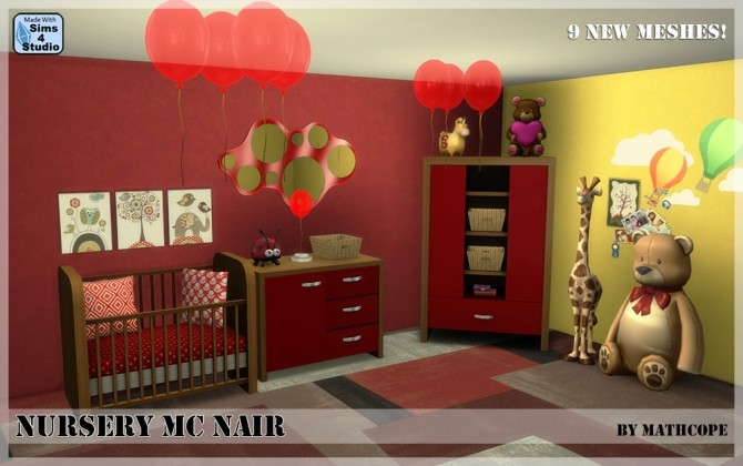 Nursery Mc Nair by Mathcope at Sims 4 Studio image 3418 670x420 Sims 4 Updates