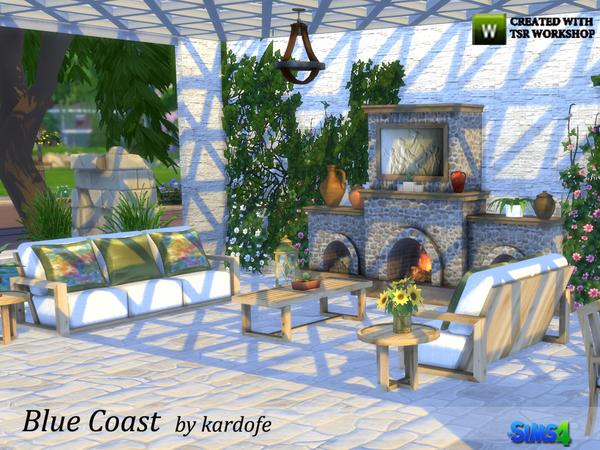 Blue Coast set by kardofe at TSR image 3420 Sims 4 Updates