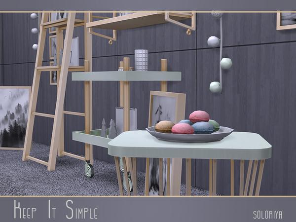 Keep It Simple set by soloriya at TSR image 3421 Sims 4 Updates