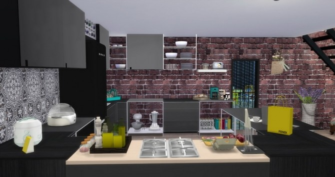 URBAN INDUSTRIAL LOFT at Lily Sims image 3431 670x355 Sims 4 Updates