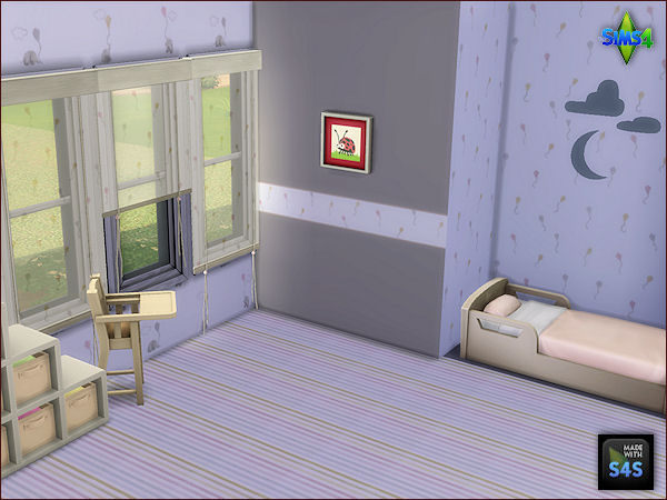 Walls, carpet floor and curtains for toddlers at Arte Della Vita image 345 Sims 4 Updates