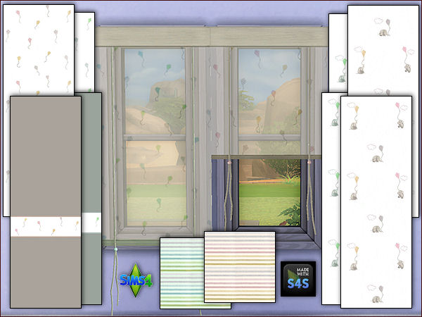 Walls, carpet floor and curtains for toddlers at Arte Della Vita image 346 Sims 4 Updates