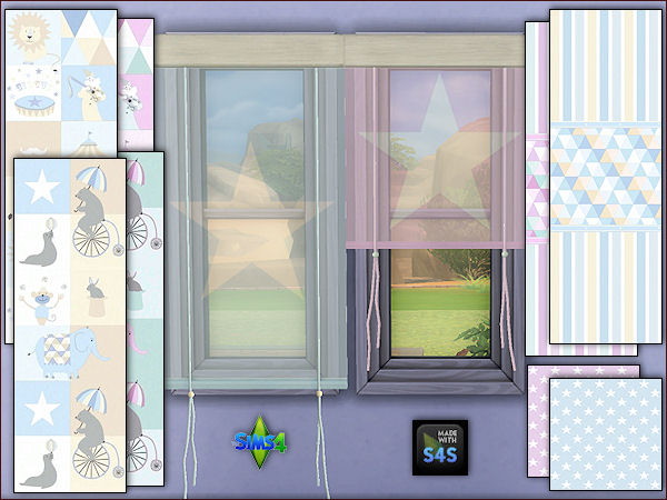 Walls, carpet floor and curtains for toddlers at Arte Della Vita image 347 Sims 4 Updates