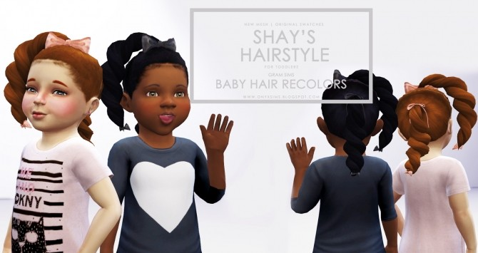 Shays Hair for Toddler Girls at Onyx Sims image 351 670x355 Sims 4 Updates