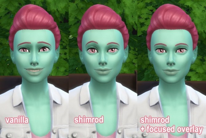 Facial Overlay Override by godofallbeauties at Mod The Sims image 3510 670x448 Sims 4 Updates