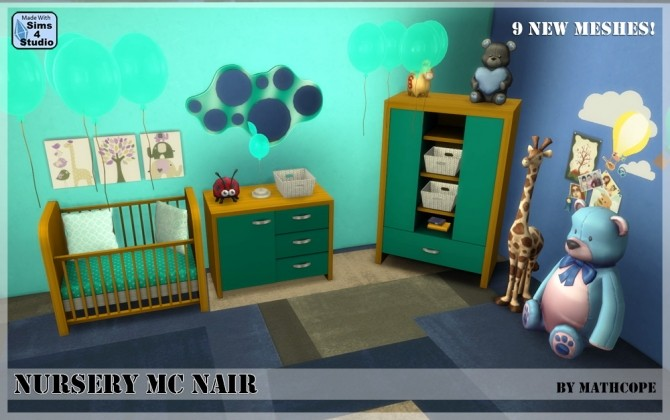 Nursery Mc Nair by Mathcope at Sims 4 Studio image 3517 670x420 Sims 4 Updates