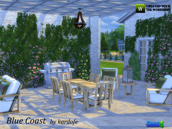 Blue Coast set by kardofe at TSR image 3519 Sims 4 Updates
